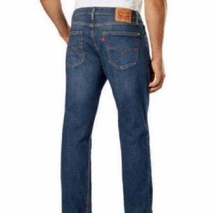 Levi's 505 dark blue denim jeans size 38x32